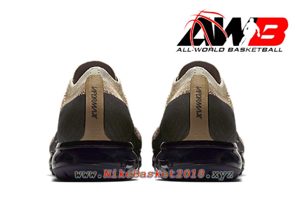 2d8dd3ec744 ... Men´s Nike BasketBall Shoes Nike Air VaporMax Flyknit Brun Black  849558-201