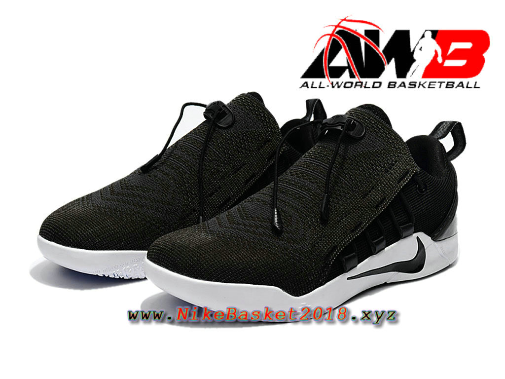 chaussure de basketball pas cher pour homme nike kobe a d nxt noir blanc 882049 007 1711270007. Black Bedroom Furniture Sets. Home Design Ideas
