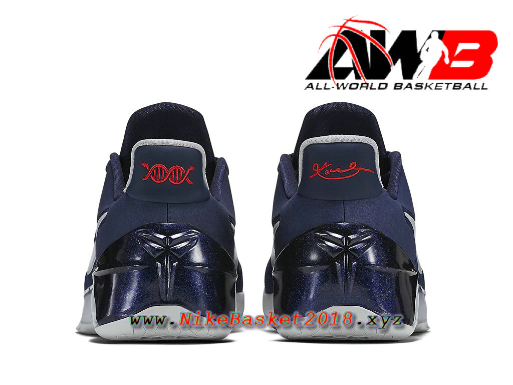 info for c04ee 04819 ... Chaussure de BasketBall Pas Cher Pour Homme Nike Kobe AD Bleu Blanc  852427 406 ...