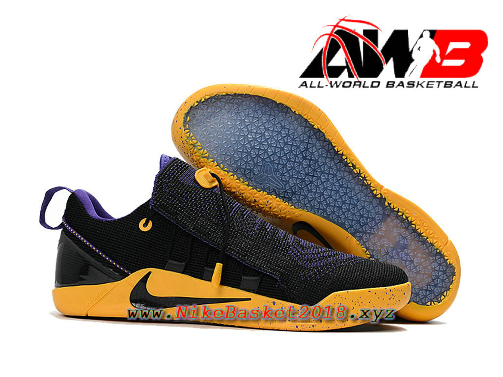 men´s nike basketball shoes nike kobe ad nxt id noir jaune 882049id002