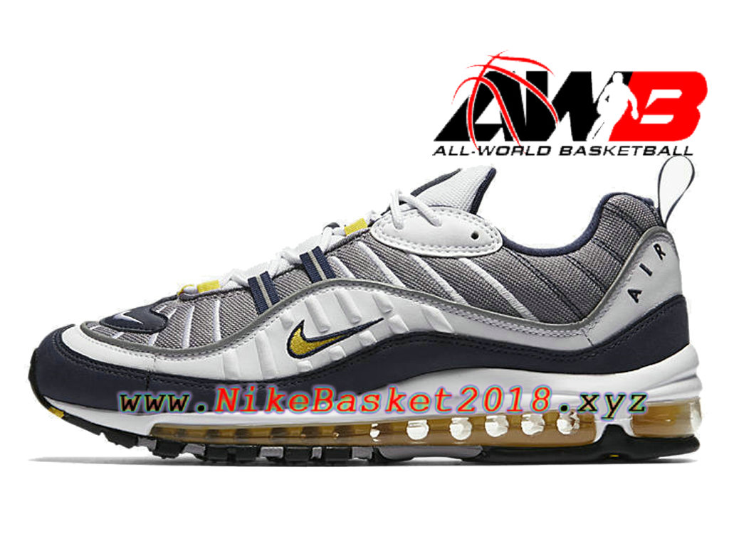 chaussures de basketball pas cher pour homme nike air max 98 tour yellow 640744 105 1802230842. Black Bedroom Furniture Sets. Home Design Ideas