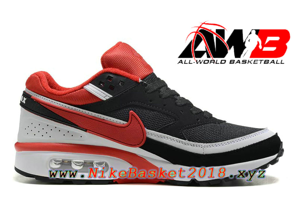 Chaussures de BasketBall Pas Cher Pour Homme Nike Air Max BW Noir