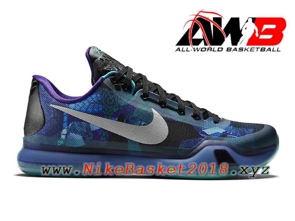 Men´s Nike BasketBall Cheap Shoes Nike Kobe 10 Blue Black 705317-305