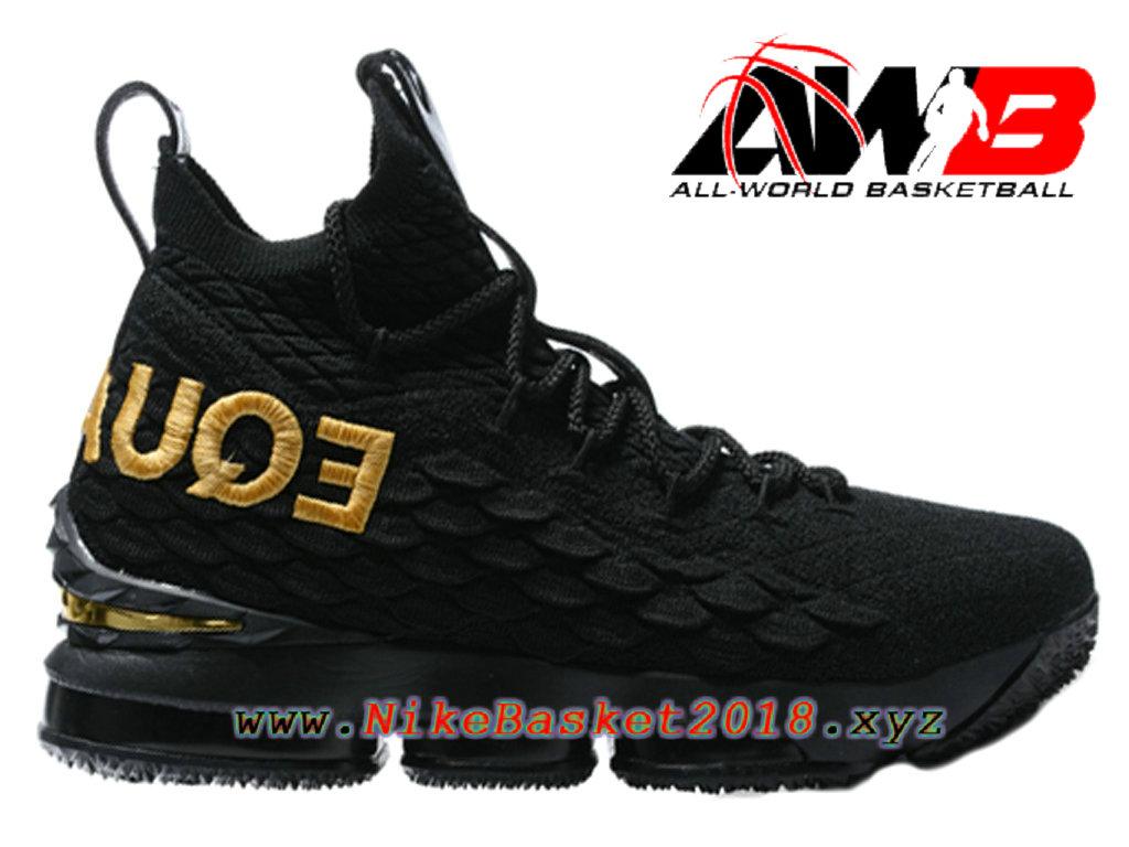 f494eb74aed Men´s Nike BasketBall Shoes Nike LeBron 15 Price Black Gold 897648-ID5