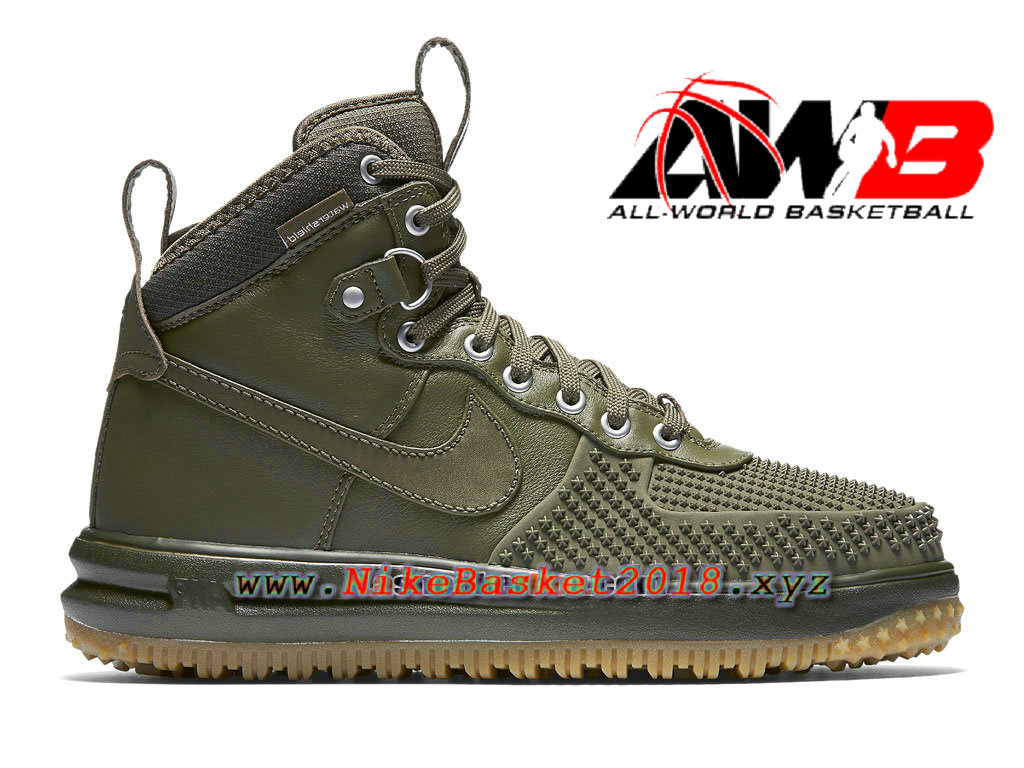 Men´s Nike LifeStyle Shoes and Sneakers Nike Lunar Force 1 Duckboot Green  805899- ...