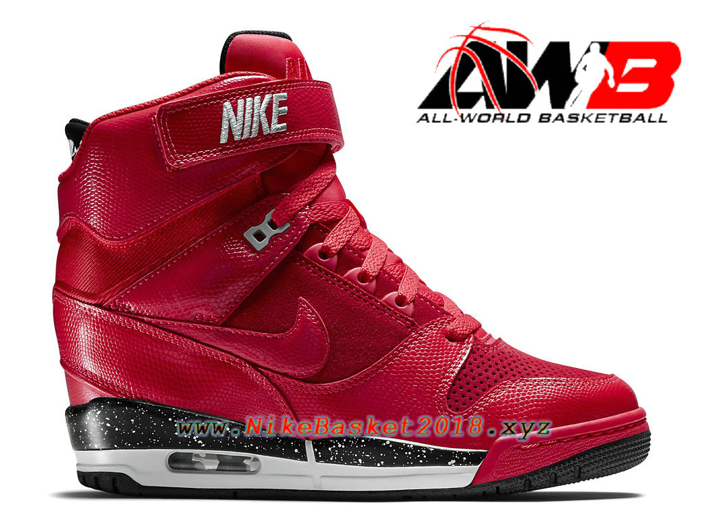 finest selection 922fb 24ae3 Women´s Nike BasketBall Shoes Nike Air Revolution Sky Hi GS Red Black  599410 600 Nike