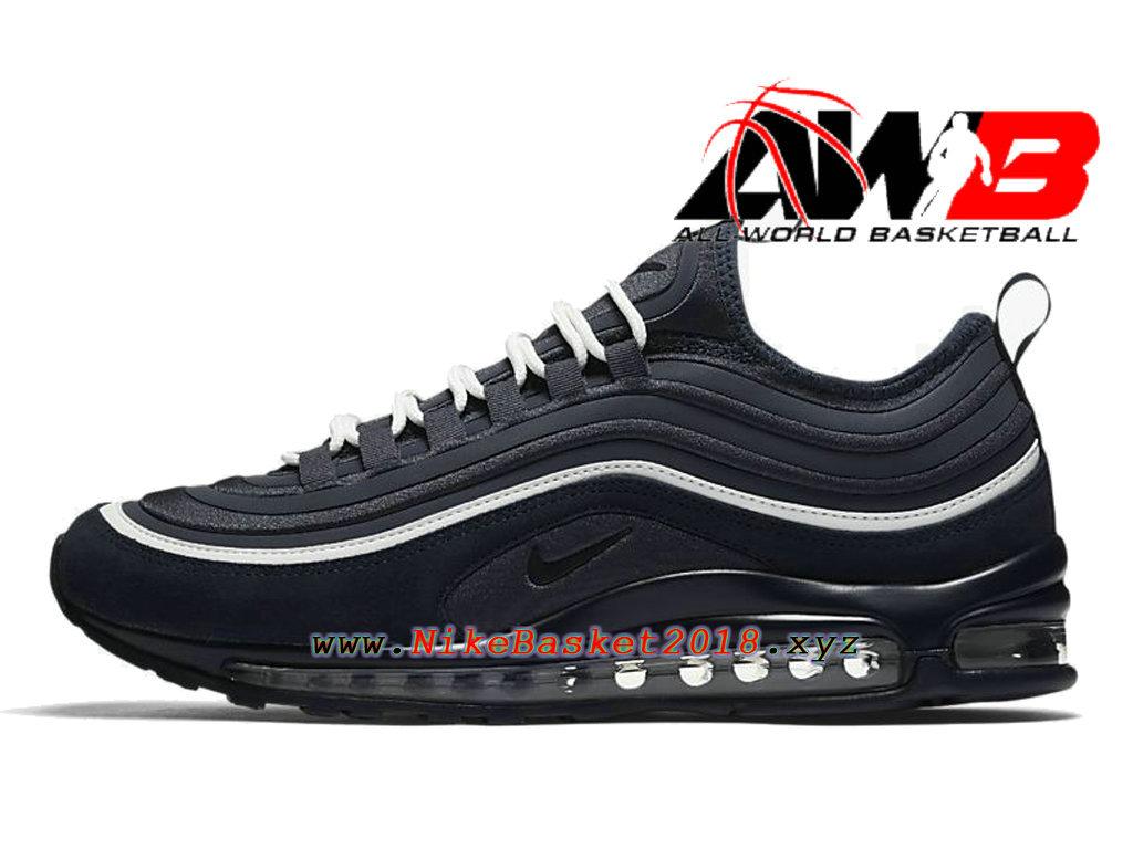 chaussures nike prix 2018 pas cher pour homme nike air max 97 ul 17 se noir blanc 924452 401. Black Bedroom Furniture Sets. Home Design Ideas