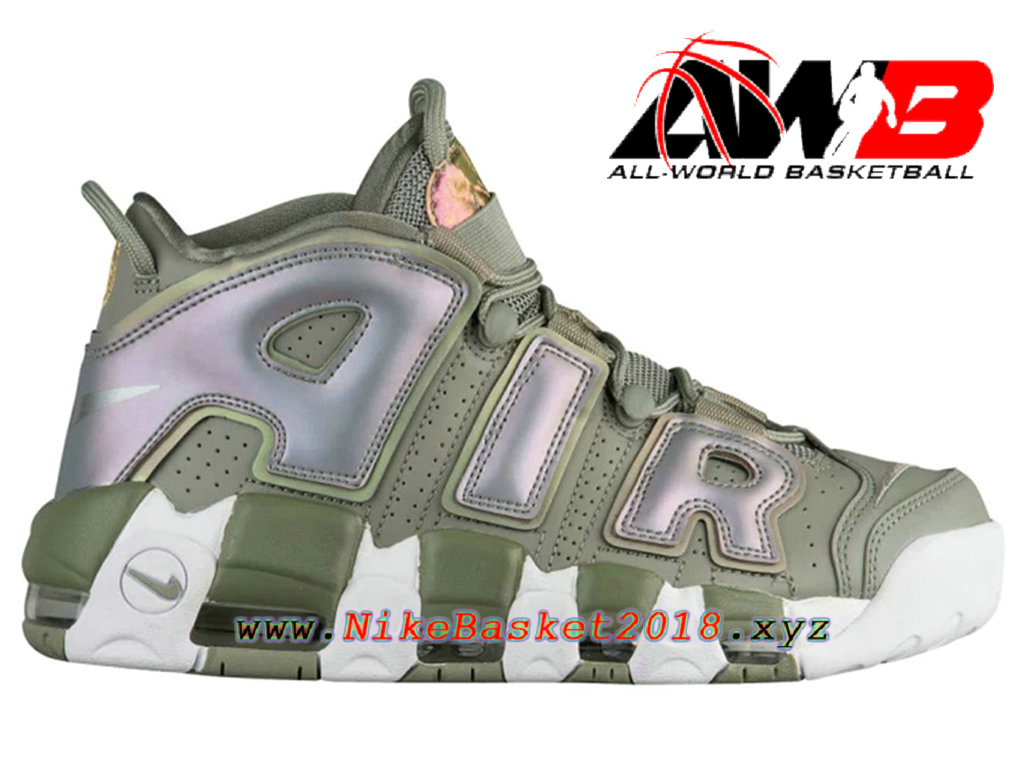 Chaussures Nike Prix Pas Cher Pour Homme Nike Air More Uptempo Vert