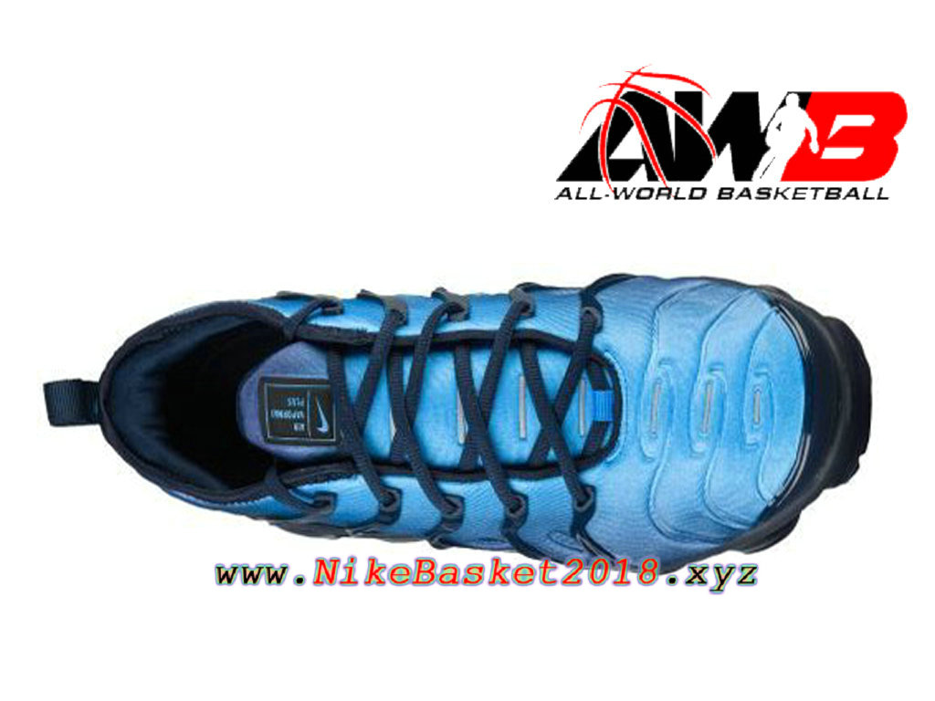 ... Men´s Nike BasketBall Shoes Nike Air VaporMax Plus 2018 Blue Black  924453-401 ... 16602503b
