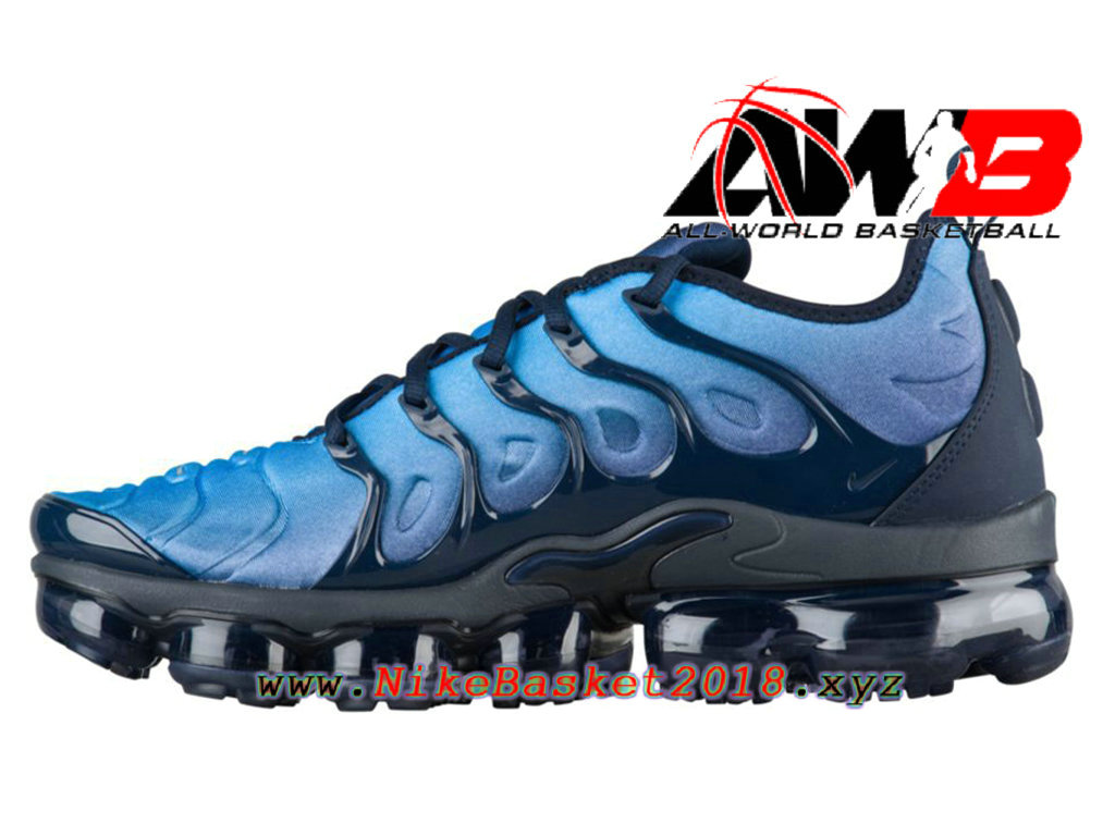 Men´s Nike BasketBall Shoes Nike Air VaporMax Plus 2018 Blue Black  924453-401