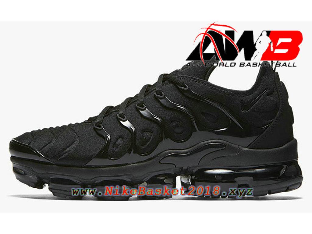 Chaussures Nike Prix Pas Cher Pour HOmme Nike Air VaporMax Plus 2018 Noir 924453-004 ...