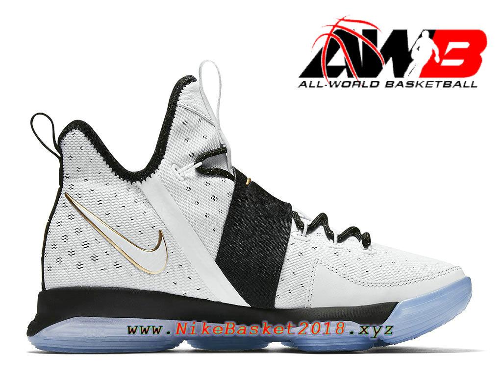 Chaussures Nike Prix Pas Cher Pour Homme Nike LeBron 14 BHM Blanc