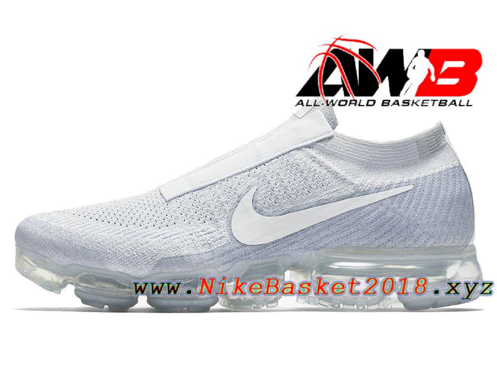 aff871dab892 Men´s Nike VaporMax 2018 Shoes Nike Air Vapormax Laceless Pure ...